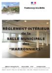 Règlement intérieur «Les Marronniers»