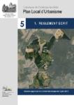 5.1 – Règlement de zones