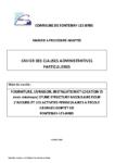 CCAP Batiment modulaire