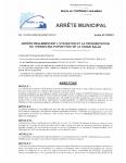 AR ARRETE 2325-21 UTILISATION DU PLATEAU MULTISPORTS