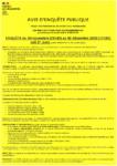Affiche enquête d'extension du data center