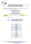 CALENDRIER 2021 – consultations juridiques GRATUITES